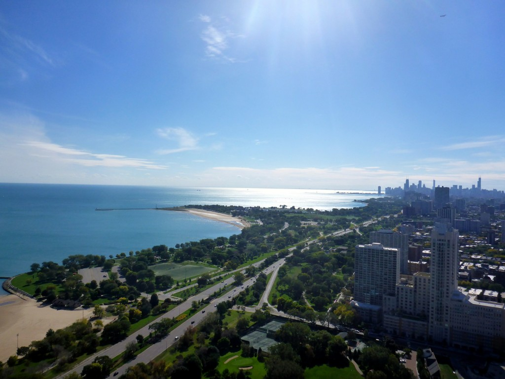 Live just a stone's throw from Lake Michigan at 500 Lake Shore Drive.