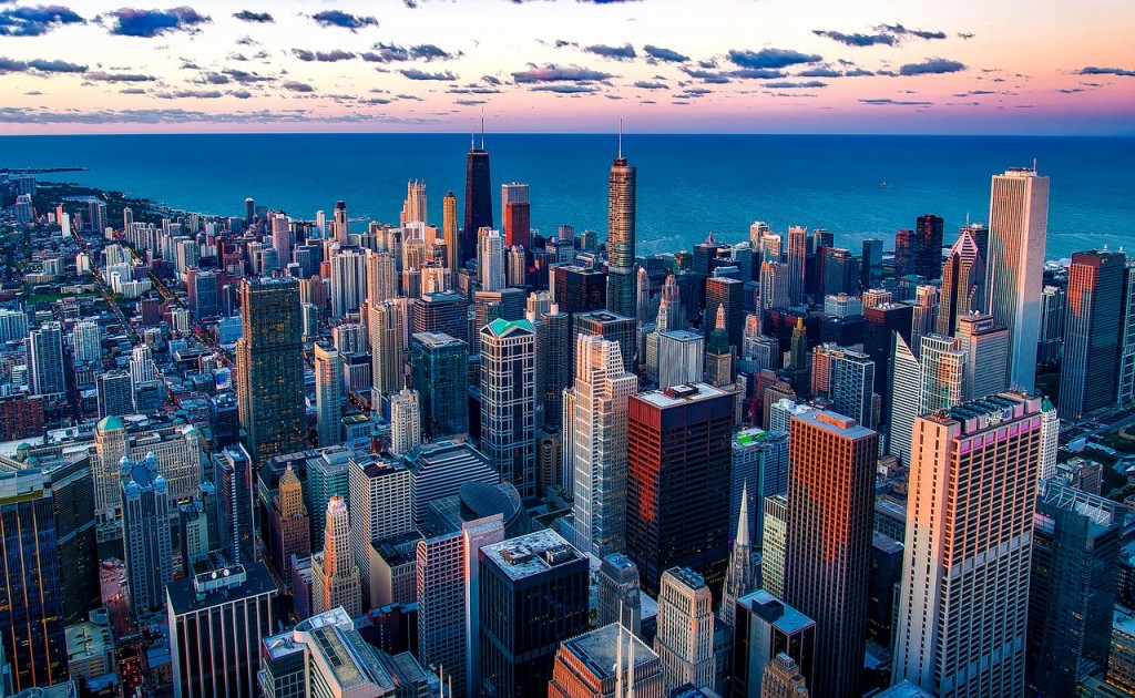 Just north of downtown Chicago sits Lakeview, with beautiful views of Lake Michigan.